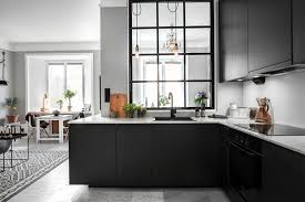 black kitchen cabinets images how can black kitchen cabinets make a small kitchen look