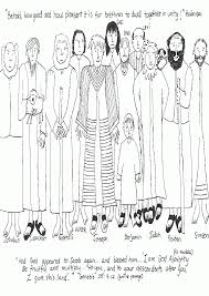 bible coloring pages joseph brothers coloring