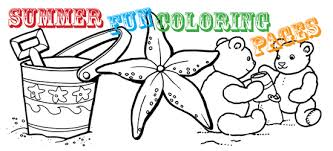 summer fun coloring pages north texas kids
