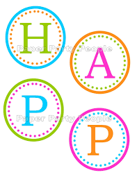 happy birthday letters printable printable invitations