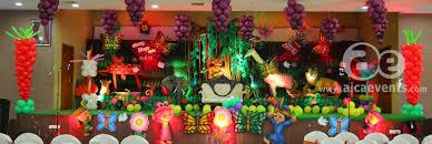 jungle theme birthday party aicaevents india jungle theme birthday party decorations