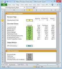 setting up your excel cash flow spreadsheet for easy scenario