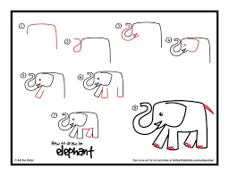 25 unique elephant drawing for kids ideas on pinterest easy
