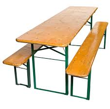 german beer hall folding table bench set 1900s for sale antiques
