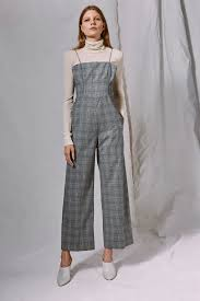 topshop jumpsuit shoptagr checked jumpsuit by boutique by topshop