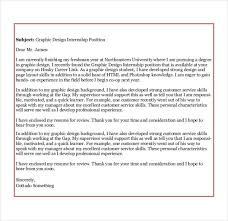 cover letter for graphic design internship best template collection