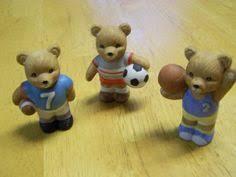 Home Interior Bears Homco Home Interiors Sports Bears Basketball Soccor Football Lot