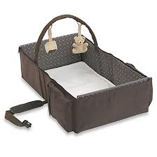Baby Folding Bed Baby Travel Bed Image Is Loading Peapod Infant Travel Bed Best
