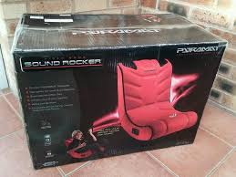 Video Game Rocking Chair Pyramat Video Game Sound Rocker S1400 Gaming Chair Brand New In