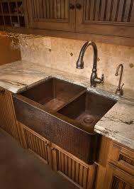 Farmhouse Duet Antique Copper Unique Copper Kitchen Sinks Home - Copper farmhouse kitchen sink