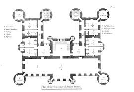 179 robert adam douglas castle second floor plan robert adam