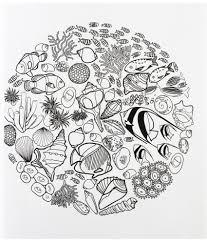 vintage ocean design colouring book for mindfulness buy vintage