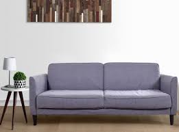 felicity three seater sofa bed in grey by urban ladder