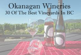 okanagan wineries 30 of the best vineyards in bc virtual tour