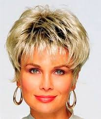 and nice short haircuts for older ladies simple fashion style
