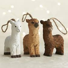 alpaca ornaments rustic carved wooden purely alpaca clothing
