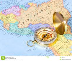 South Africa On Map by Map Of South Africa With Compass Royalty Free Stock Photos Image