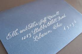 wedding invitations how to address wedding invitation addressing calligraphy deposit