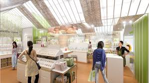 timier house 2014 new concept of cosmetics store in asia the