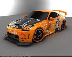 Nissan 350z Orange - nissan 350z wallpapers wallpaper cave