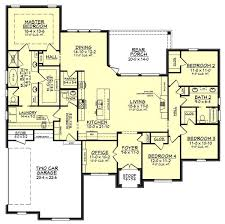 open layout floor plans colin house plan house plan zone