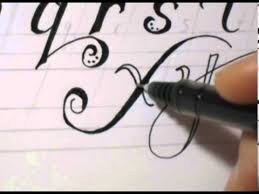 fancy cursive writing how to write abc in fancy letters youtube