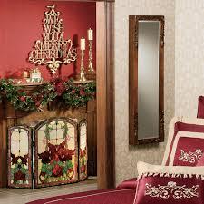 christmas fireplace screen binhminh decoration