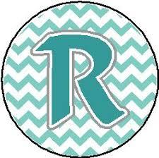 buy r chevron pattern letter initial 1 25 pinback button badge