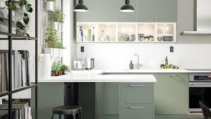 ikea colored kitchen cabinets a planet friendly kitchen ikea
