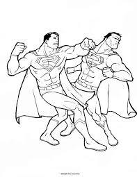 10 images superman iron man coloring pages batman