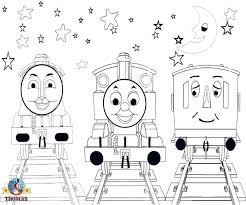 thomas train coloring pictures kids print color
