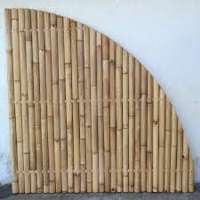 discount fan shaped bamboo fence panel 180 x 180 cm