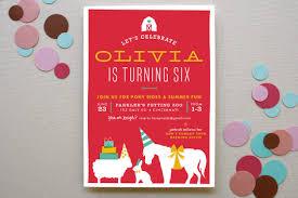 farm children s birthday invitations minted