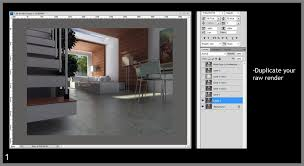 post process tutorials render in sketchup and post process in
