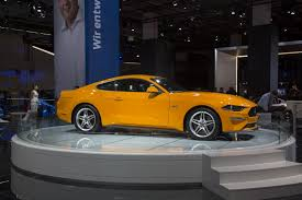 europe u0027s 2018 ford mustang comes with more v8 power but