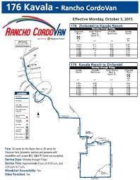 Sacramento Light Rail Map Public Transportation Rancho Cordova