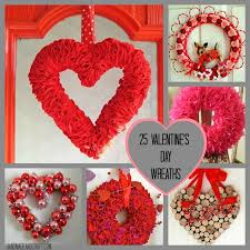 valentines wreaths 25 s day wreaths diy decor