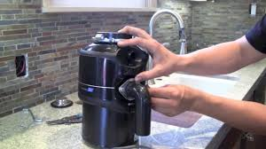 Garbage Disposal Backing Up Into Single Sink by How To Install A Garbage Disposal Step By Step Youtube