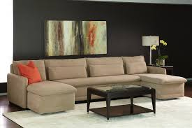 Most Comfortable Sleeper Sofa Apartments Stunning Cream American Leather Comfort Sectional