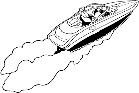 speed boat coloring pages fablesfromthefriends com
