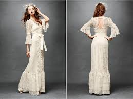 vintage ivory wedding dress lace vintage chic column wedding dress with open keyhole back