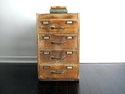 Vintage Oak Filing Cabinet Antique Wooden Filing Cabinet Australia Antique Wooden Flat File