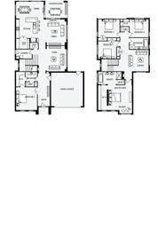 Clarendon Homes Floor Plans Killara 28 Floor Plan 260 20sqm 13 10m Width 21 50m Depth