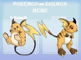 Polemon Meme - pokemon digimon meme exle by g fauxpokemon on deviantart