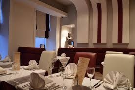 part of the main restaurant areas picture of new gandhi indian
