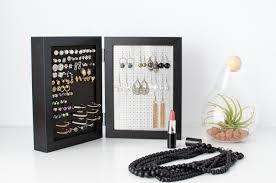 earring holder for studs earring holder black 5x7 frames stud hook earring