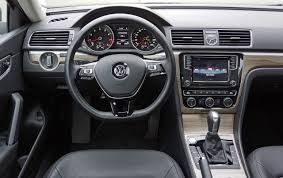 volkswagen passat 2017 interior 2017 volkswagen passat 1 8 tsi highline road test review