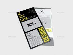 dl flyer mockup by owpictures graphicriver