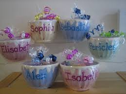 personalized party favors personalized ceramic bowl cup kids party favors