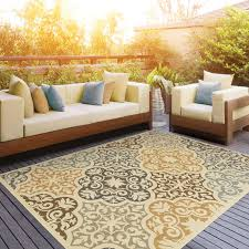 Outdoor Mats Rugs Colton Yellow Brown Indoor Outdoor Area Rug Reviews Joss